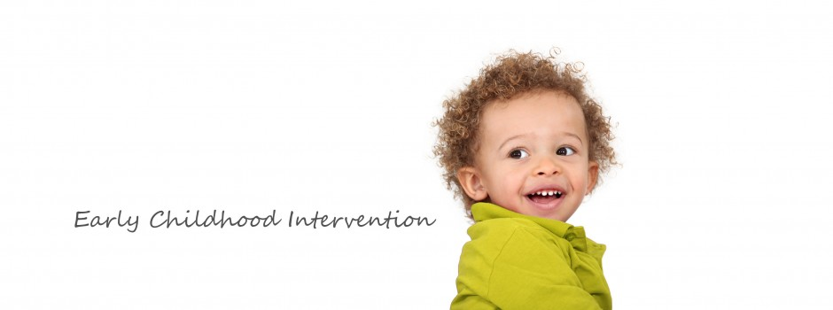 smiling toddler slide w text